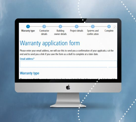 Warranty application