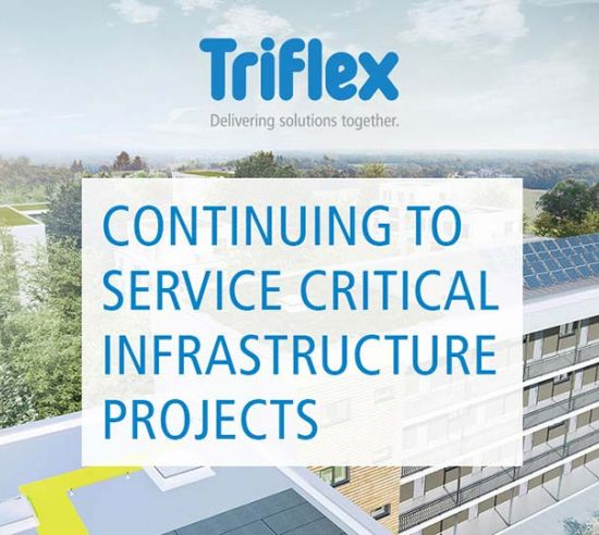 Continuing to service critical infrastructure projects
