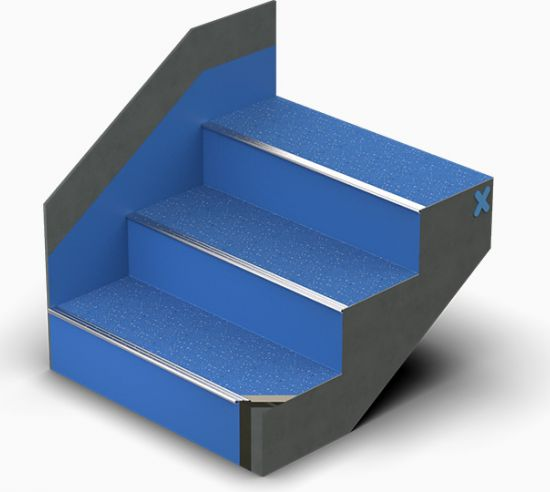 Triflex StairCoat with Micro Chips