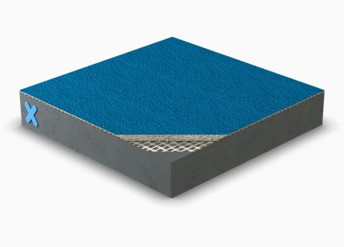 Triflex ProDeck with quartz