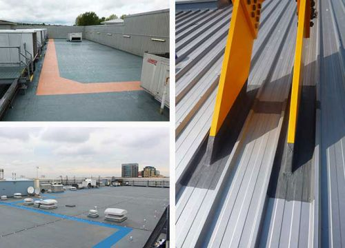Retail roof grid image