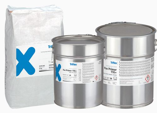 Pox Primer 116+ combined with Filler