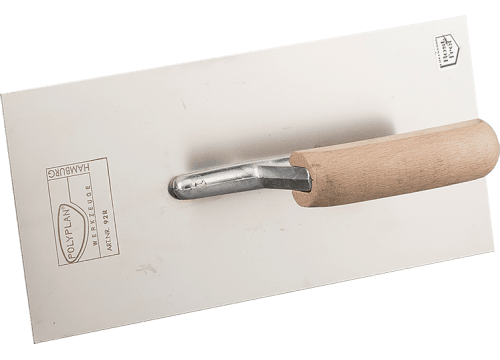 Smoothing trowel