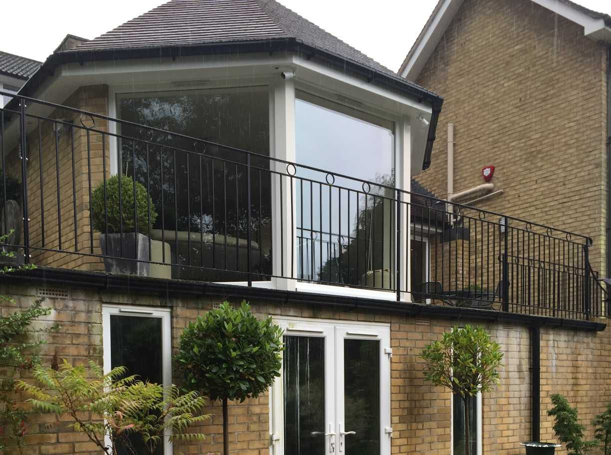 Withdean Close balcony