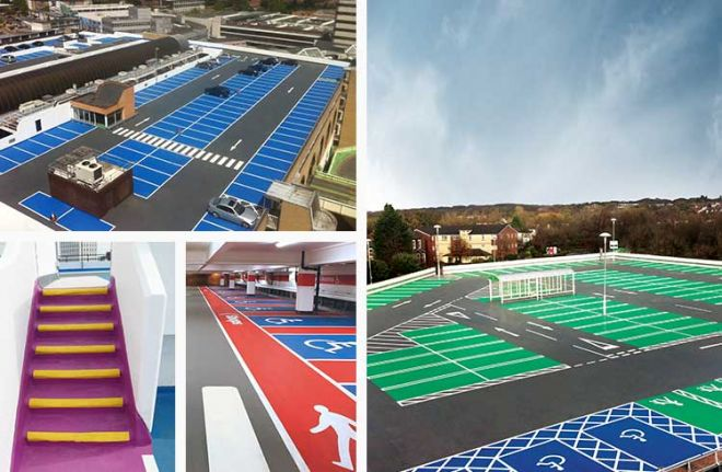 Creative design car parks