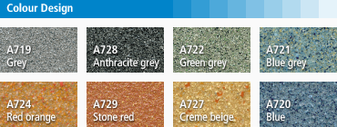 Triflex Colour Design finish options